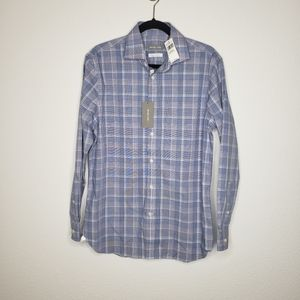 Michael Kors Slim Fit Airsoft Stretch L/S Shirt